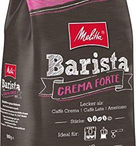 Melitta Ganze Kaffeebohnen, Barista Crema forte