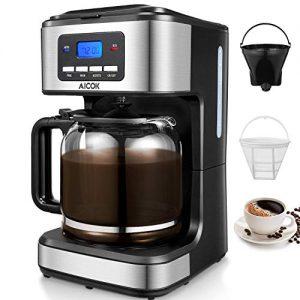 Aicok Filterkaffeemaschine mit 24 h Timerfunktion