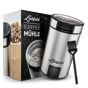 Liebfeld 200W Edelstahl Kaffemuehle