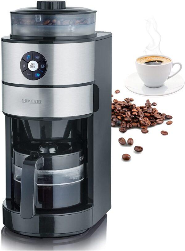 Severin KA 4811 Kaffeeautomat mit Mahlwerk
