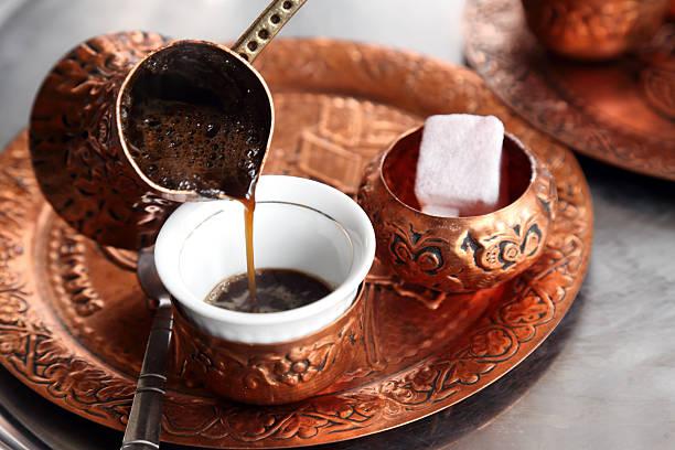 Tuerkischer Kaffee-Mokka