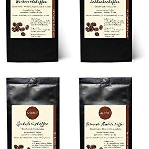 4 x Kaffee mit Geschmack zu Weihnachten